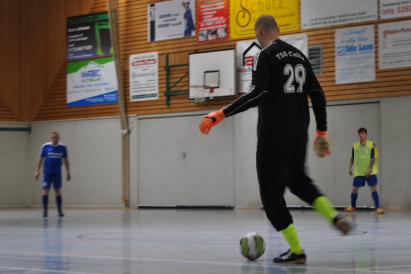 Stephan Herrmann musste insgesamt nur drei Mal hinter sich greifen. | Foto: Verein