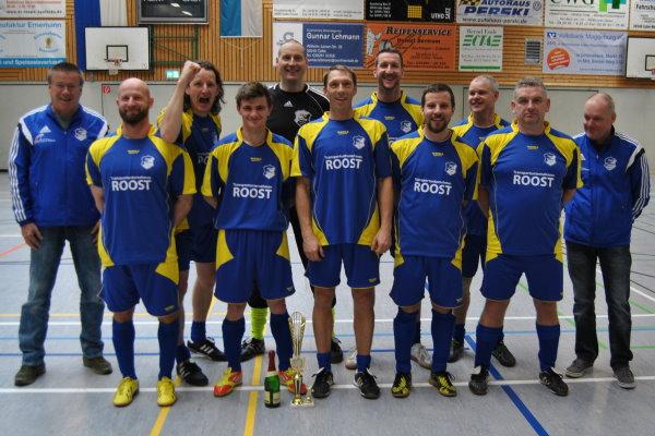 Siegerfoto nach dem Turniersieg. | Foto: Verein