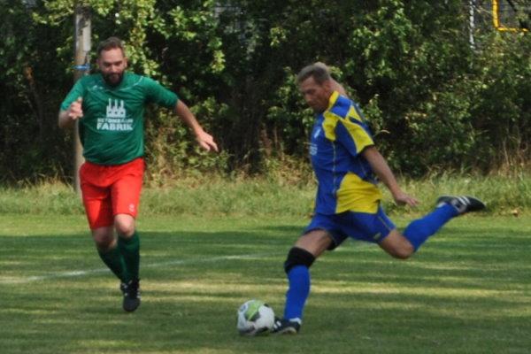 Thomas Kindermann in einem Spiel der Alten Herren bei der TSG Calbe im Jahr 2020.