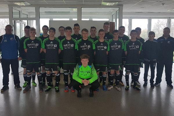 B-Jugendmannschaft der TSG Calbe in der Saison 2018/2019