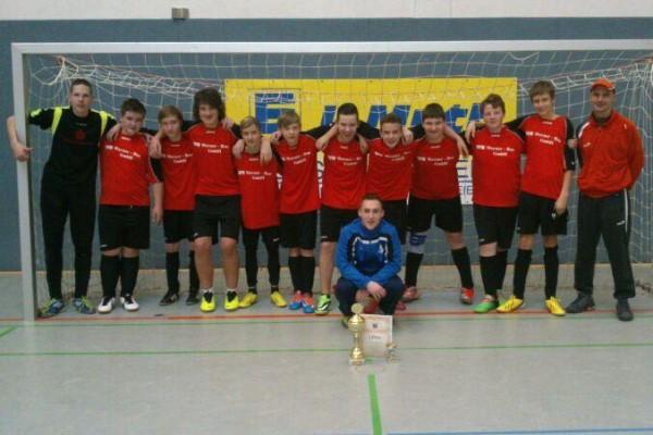 C-Jugend_Halle_Turniersieg Aken 2014