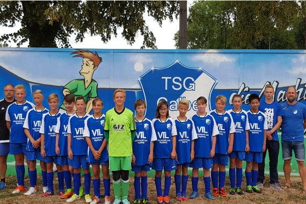 C-Jugendmannschaft der TSG Calbe in der Saison 2018/2019
