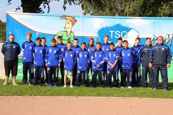 C-Jugendmannschaft der TSG Calbe in der Saison 2017/2018