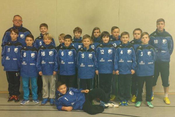 D-Jugend_Mannschaftsfoto_Saison 2014-2015_Weihnachtsfeier (2)