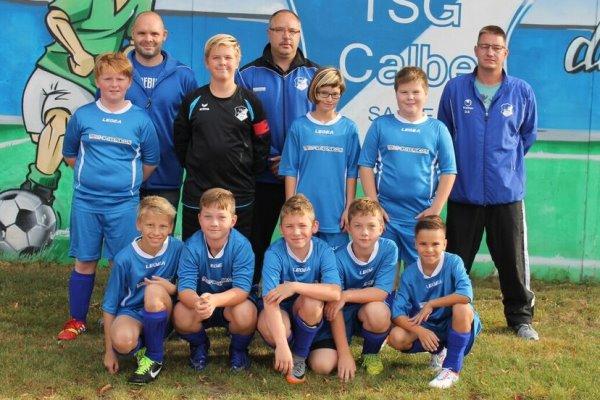 D1-Jugendmannschaft der TSG Calbe in der Saison 2017/2018