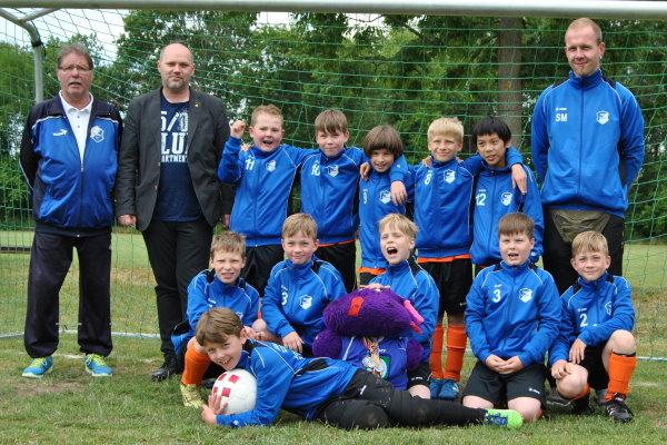 E-Jugend_Mannschaftsfoto_Saison 2014-2015_Heiko Neuling
