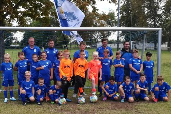 E-Jugendmannschaft der TSG Calbe in der Saison 2020/2021