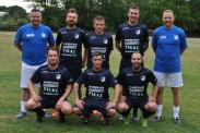 Neu-TSG-Trainer Marcel Würlich (stehend 1.v.l.) und Torwarttrainer Christian Harant (stehend 1.v.r.) begrüßen neu im Kader der TSG Calbe: stehend v.l.n.r.: Martin Henschel (1. FC Magdeburg II), Chris Rose (TSG Calbe II), Stefan Sandau (TSG Calbe II) und hockend v.l.n.r.: Enrico Czommer (VfB Magdeburg-Ottersleben), Sascha Bergholz (SV Groß Rosenburg) und Chris Müsing (SV Wacker Felgeleben). Auf dem Foto fehlen: Rico Willner (MSC Preußen Magdeburg), Alexander Schellbach (Union Schönebeck), Yunus Emre Aydin (Croatia Hamburg) und Martin Kruse (eigener Nachwuchs). | Foto: Verein