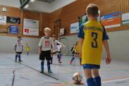 Die F-Jugend der TSG Calbe im Duell mit den Gleichaltrigen von Eintracht Braunschweig. | Foto: Verein