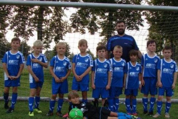 F-Jugendmannschaft der TSG Calbe in der Saison 2017/2018