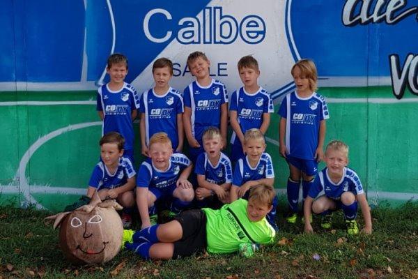 F-Jugendmannschaft der TSG Calbe in der Saison 2019/2020