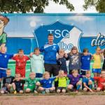 F-Jugend-Team der TSG Calbe in der Saison 2020/21.   Foto: Verein