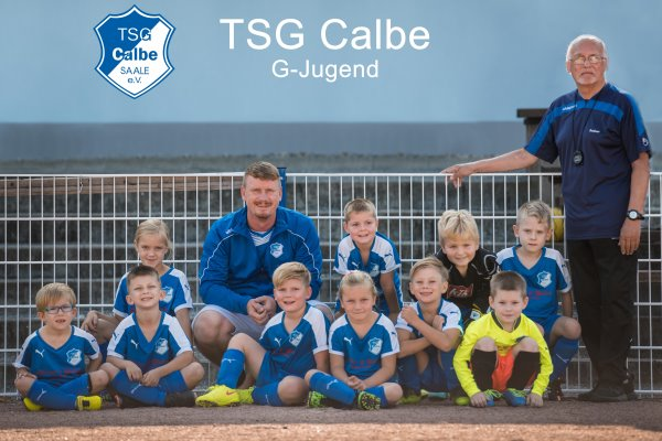 G-Jugendmannschaft der TSG Calbe in der Saison 2019/2020