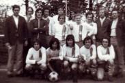 Siegerfoto vom Kreispokalsieg 1976.