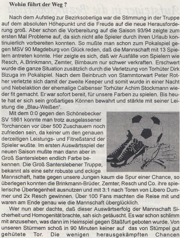 TSG Calbe - Fußballkurier - Seite 4