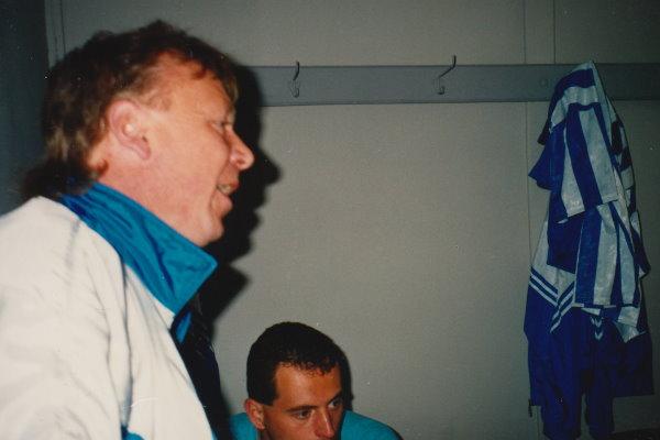 TSG-Trainer Martin Wendland mit letzten Worten an seine Mannschaft vor dem Spiel gegen den BVB.