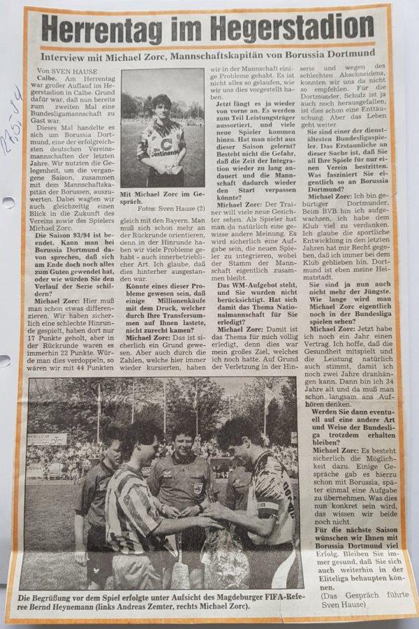 Interview vom 27. Mai 1994
