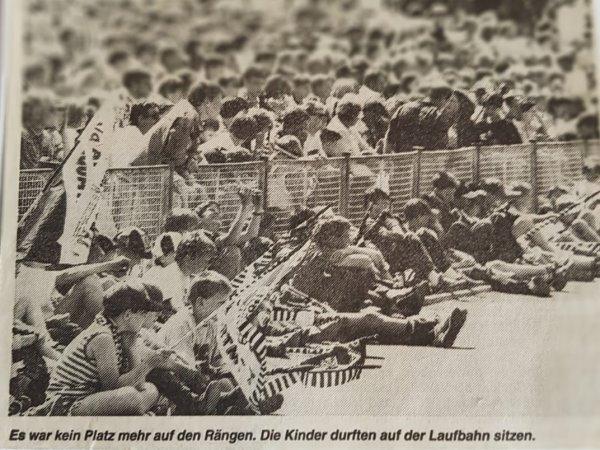 Insgesamt kamen 3600 Zuschauer ins Hegerstadion.