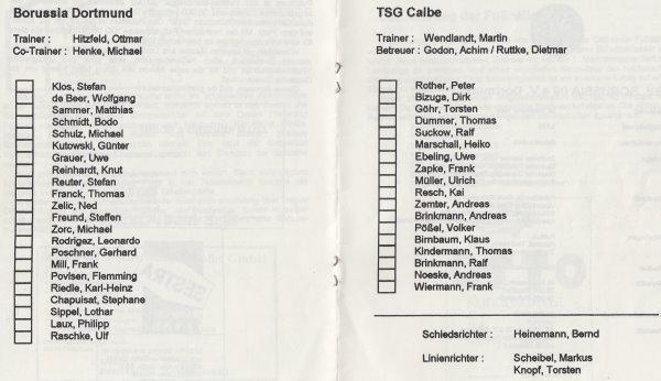 TSG Calbe - Fußballkurier - Seite 6