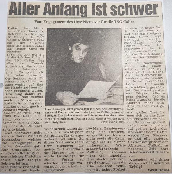 Bericht vom 19. Januar 1994.