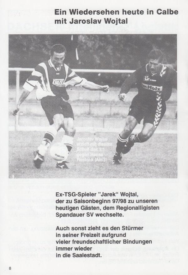 Jaroslav Wojtal spielte mit dem Regionalligisten Spandauer SV in der Calbenser Hegersporthalle.