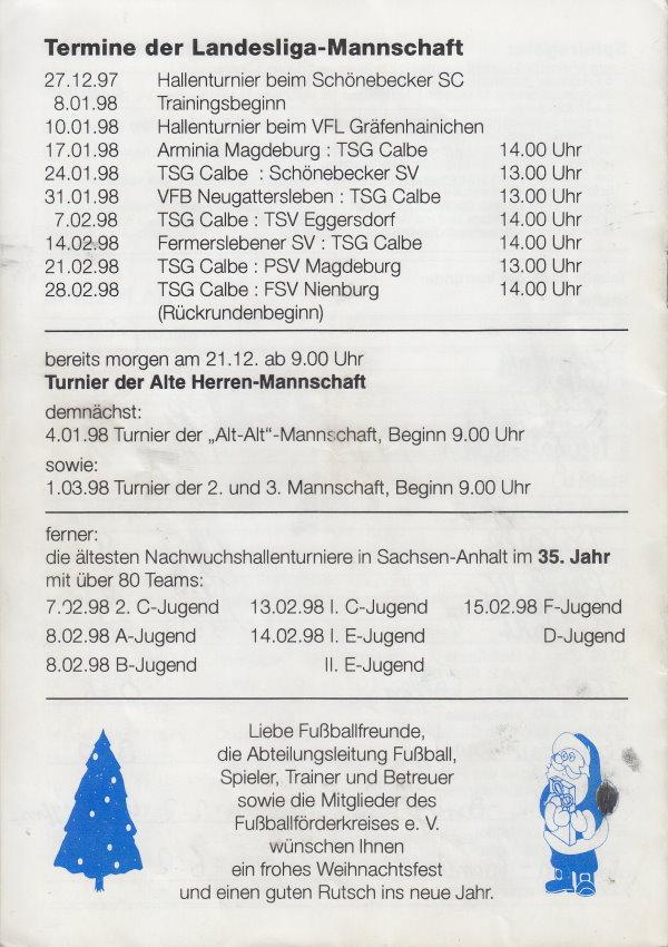 Weitere Termine im Anschluss an den Doppstadt-Cup.