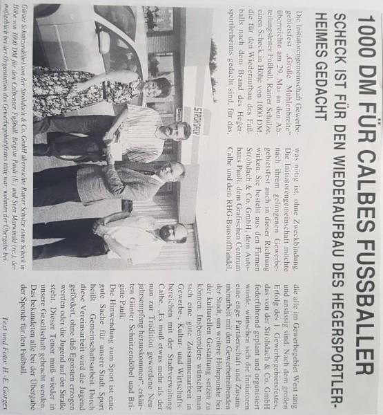 Artikel vom 23. Juni 1997.
