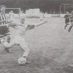 Roy Präger (VfL Wolfsburg) entwickelte sich zum Publikumsliebling und stellte sein Können unter Beweis.