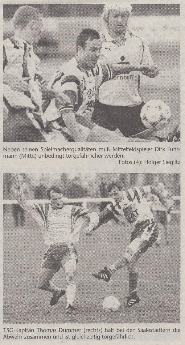 Volksstimme-Sonderbeilage zur Saison 1999/2000 (Teil 2).