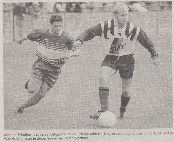 Volksstimme-Sonderbeilage zur Saison 1999/2000 (Teil 4).