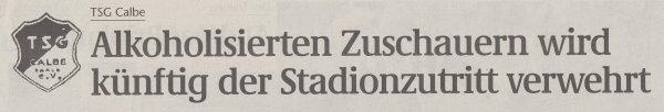 Volksstimme-Sonderbeilage zur Saison 1999/2000 (Teil 5).