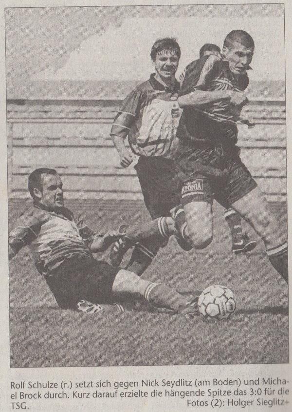 TSG-Kicker Rolf Schulze.