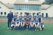 Die Frauenmannschaft der TSG Calbe aus dem Jahr 2002.