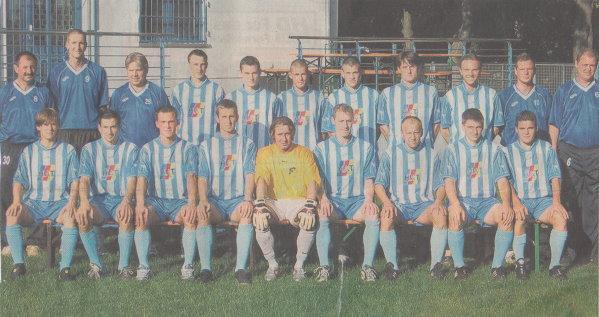 TSG-Team zum Start der Verbandsligasaison 2005/2006.