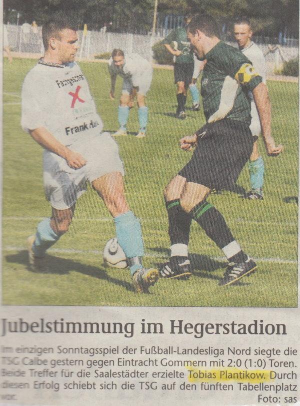 Volksstimme-Foto zum 3. Spieltag.