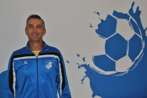 Marcel Hulha im Hegerstadion Calbe. | Foto: Verein