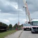 Die Bauarbeiten haben bereits heute an der Brücke begonnen. | Foto: Verein