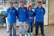 Das Ordnerteam der TSG Calbe ihren neuen Pullovern. | Foto: Verein