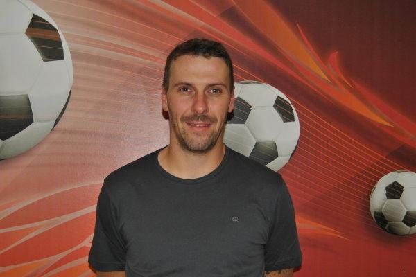 Der neue sportliche Leiter der TSG-Fußballer, Stefan Sandau, stellt sich verschiedenen Fragen zu seinen Zielstellungen in der neuen Vorstandsposition.   Foto: Verein