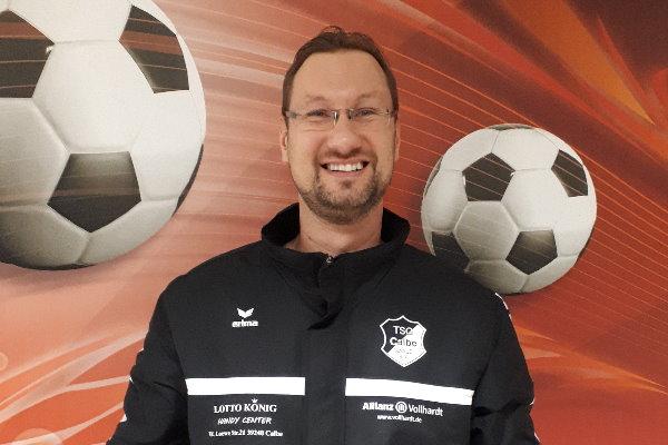 Der neue Nachwuchsleiter der Fußballer der TSG Calbe: Sven Brösel   Foto: Verein