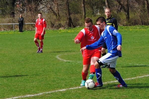 Die Calbenser B-Jugend, hier im Spiel gegen Rosenburg, verlor unglücklich in Welsleben. | Foto: Verein