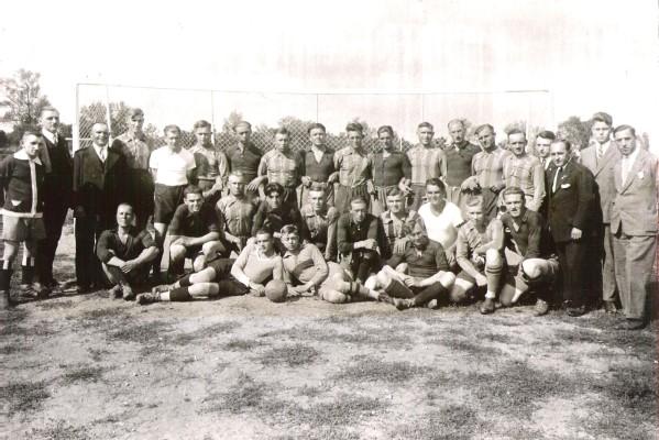 Historie_Sportplatzeinweihung 1925