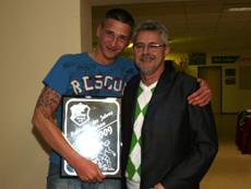 Fußballer des Jahres der Alten Herren wurde Peter Rother (l.)