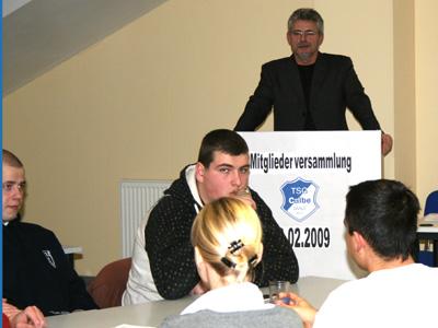 Rainer Schulze beim Schlußwort