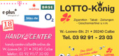 Handy Center Lotto Koenig Calbe
