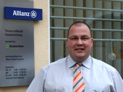 Förderkreis-Vorsitzender Th. Vollhardt