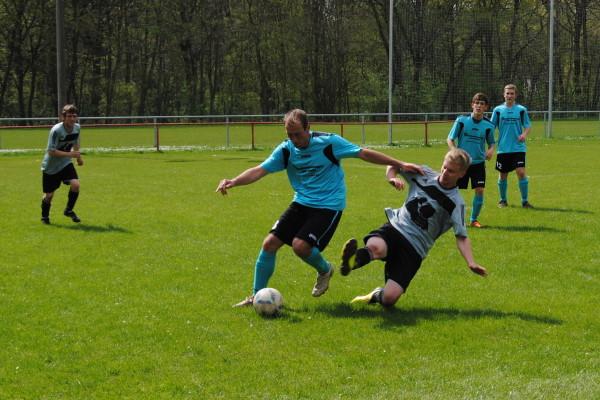 Sven Bartsch hatte in der TSG-Defensive wenig Mühe und konnte sich oft mit in die Angriffe einschalten. | Foto: Verein